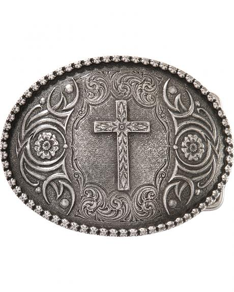 Montana Silversmiths Antiqued Cross Buckle