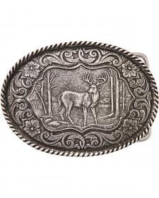 Montana Silversmiths Deer Buckle