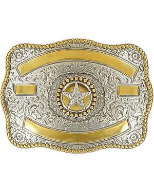 Two-tone Texas Star Buckle
