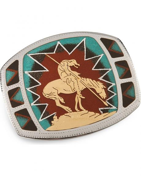Johnson & Held End of the Trail Buckle