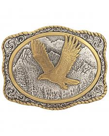 Gold-Tone Eagle Buckle