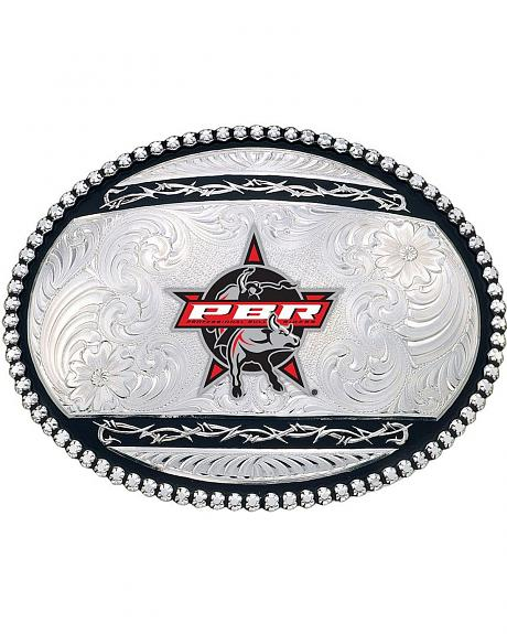 Montana Silversmiths Large Oval PBR Buckle