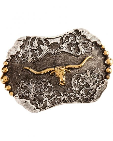 Stetson Craftsman's Alliance Limited Edition Steerhead Stetson Buckle