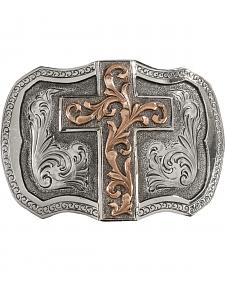 StetsonTri-Tone Cross Buckle