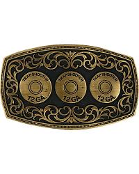 Montana Silversmiths Trapshooter Shell Buckle at Sheplers