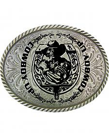 Montana Silversmiths 'Cowboy Up' Belt Buckle