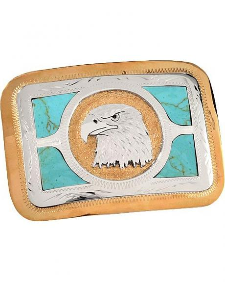 Old Mad Eagle Head Buckle