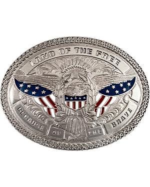Nocona Land of the Free Buckle