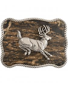 Nocona Mossy Oak Jumping Buck Buckle