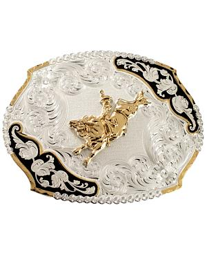 Montana Silversmiths Bucking Bronco Belt Buckle