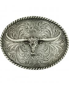 Montana Silversmiths Steerhead Belt Buckle
