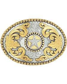 Nocona Gold Star Buckle