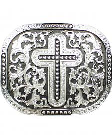 Nocona Cross & Scroll Buckle