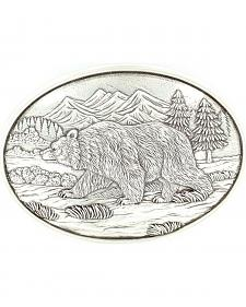 Nocona Grizzly Bear Buckle