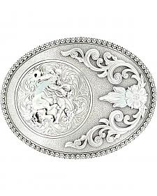 Nocona Bucking Bronco Buckle