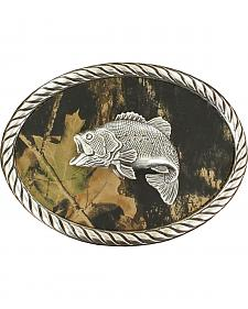 Fish Mossy Oak Oval Buckle