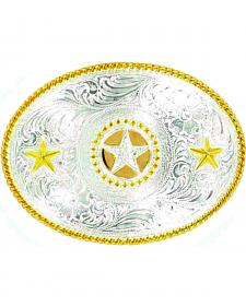 Nocona Oval Star Buckle