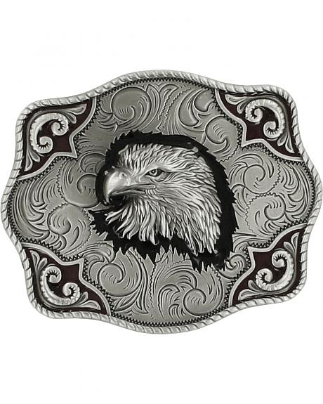 Nocona Men's Bald Eagle Belt Buckle
