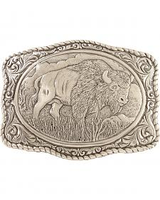 Crumrine Vintage Men's Buffalo Belt Buckle