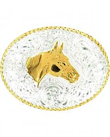Crumrine Horse Head Buckle