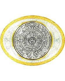 Crumrine Aztec Calendar Buckle
