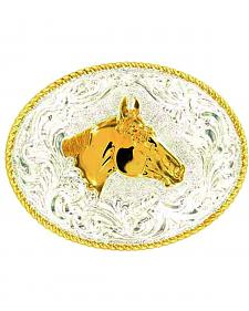 Crumrine Horse Head Buckle