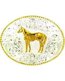 Crumrine Standing Horse Buckle