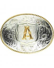 "Crumrine Initial ""A"" Buckle"