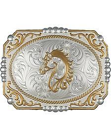 Montana Silversmiths Cameo Horse Buckle