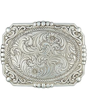 Montana Silversmiths Filigree Cameo Buckle