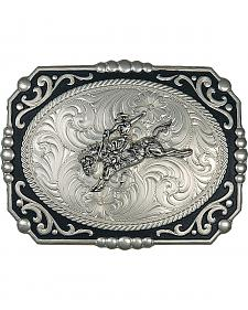 Montana Silversmiths Bucking Bronco Filigree Buckle