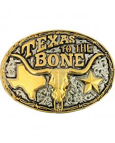 Montana Silversmiths Texas To The Bone Buckle