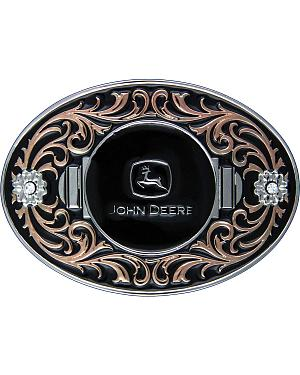 John Deere Two-Tone with Copper Flourish Attitude Buckle