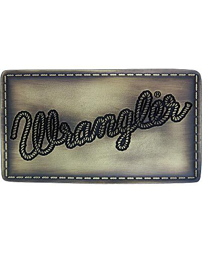Wrangler Licensed Patch Attitude Buckle Western & Country A370