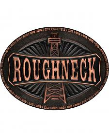 Montana Silversmiths Men's Copper-Tone Roughneck Marquee Attitude Buckle