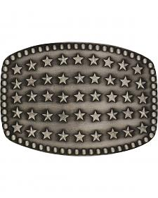 Montana Silversmiths Starry Flag Attitude Buckle