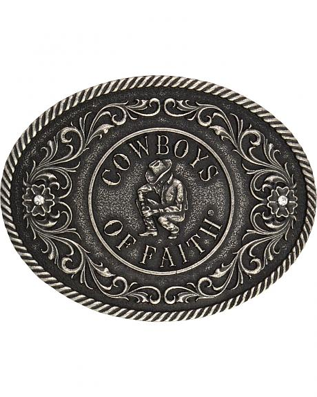 Montana Silversmiths Cowboys of Faith Classics Attitude Buckle