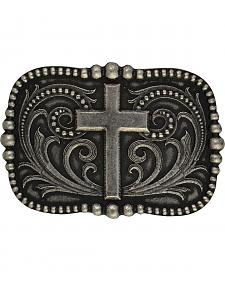Montana Silversmiths Cross Over Pinpoint Filigree Classic Attitude Buckle