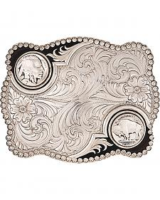 Montana Silversmiths Antiqued Buffalo Nickel Buckle