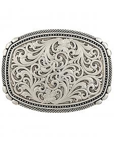 Montana Silversmiths Men's Antiqued Medium Two-Tone Framed Buckle