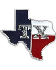 Montana Silversmiths Men's State of Texas Attitude Buckle