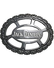 Jack Daniel's Men's Logo Gear Belt Buckle