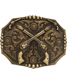 AndWest Men's Dueling Pistols Belt Buckle