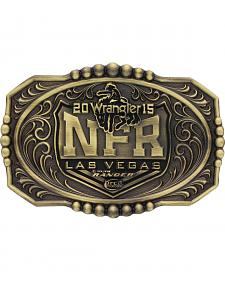 Montana Silversmiths 2015 WNFR Brass Cast Buckle