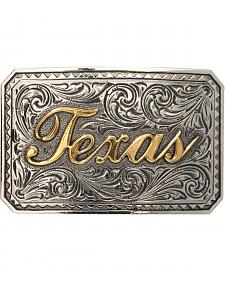 AndWest Men's Texas Ranger Two-Tone Belt Buckle