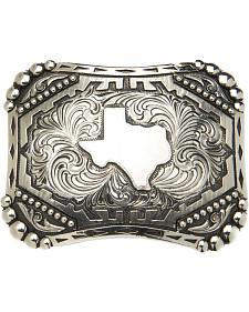 "AndWest Vintage ""Silverton"" State of Texas Belt Buckle"