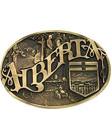 Montana Silversmiths Alberta Province Heritage Attitude Belt Buckle