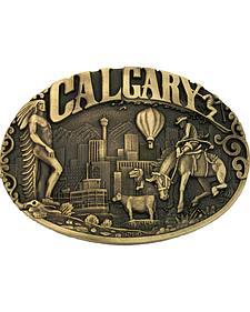 Montana Silversmiths Calgary Heritage Attitude Belt Buckle