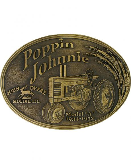 Montana Silversmiths Model A Poppin Johnnie Heritage Attitude Belt Buckle