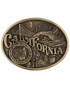 Montana Silversmiths California State Heritage Attitude Belt Buckle